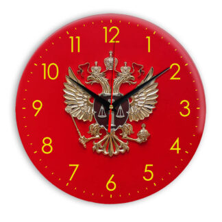 Настенные часы  «simvolika-verhovnogo-suda-3d»