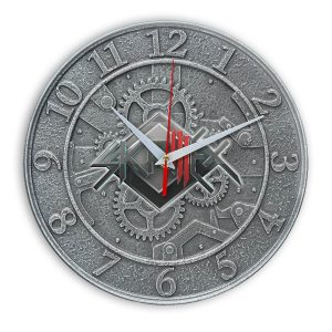 Skrillex настенные часы 1