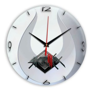 Skrillex настенные часы 14