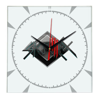 Skrillex настенные часы 2