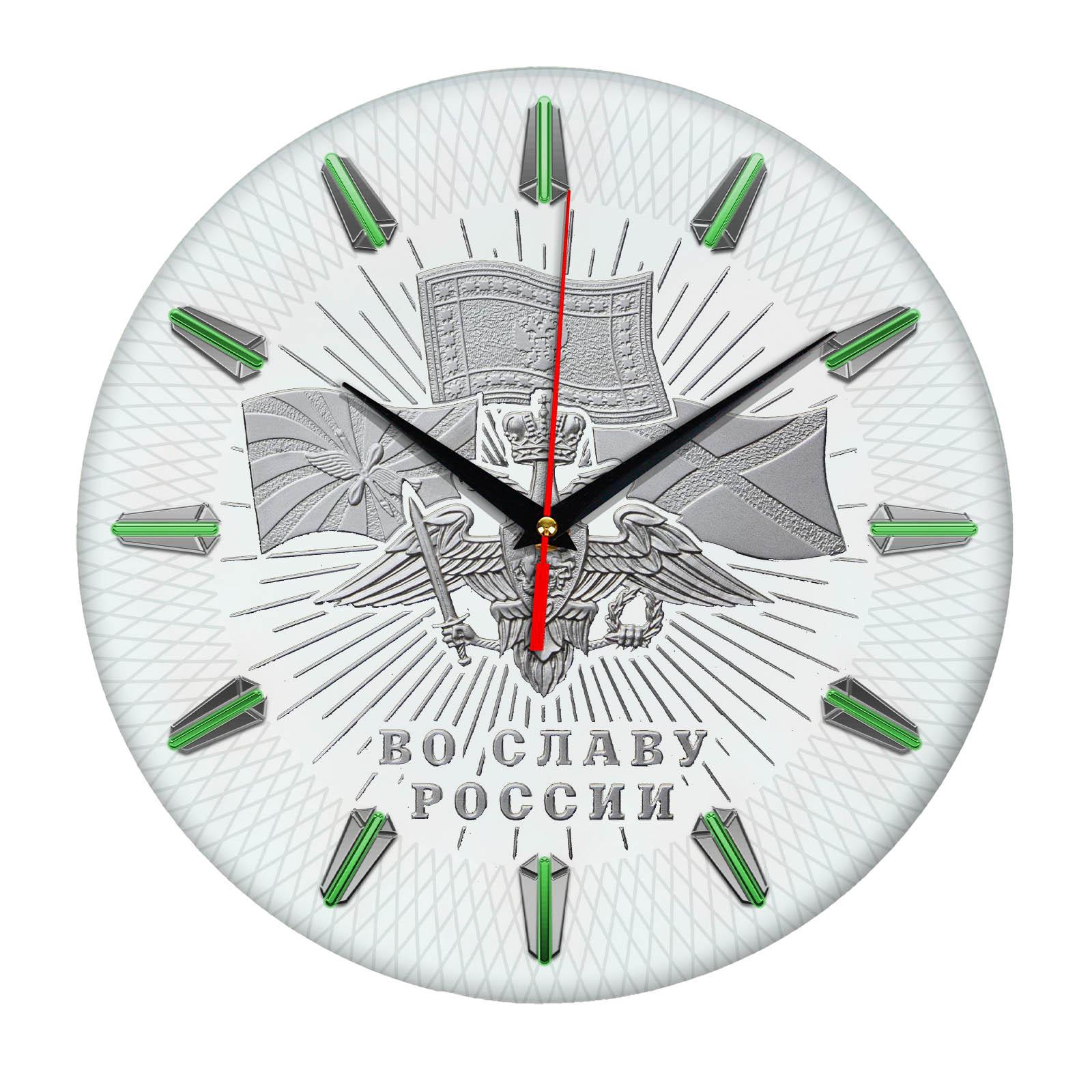 Настенные часы «slavarossii»