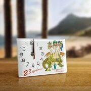 Часы «С 23 февраля от Горыныча»