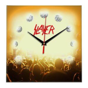 Slayer настенные часы 12