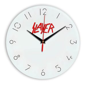 Slayer настенные часы 5
