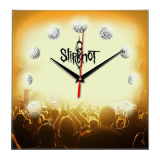 Slipknot настенные часы 12
