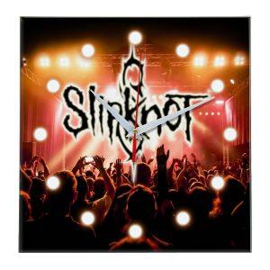 Slipknot настенные часы 13