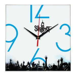 Slipknot настенные часы 8