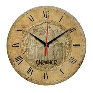 Часы настенные «Смоленск и церковь Петра и Павла»
