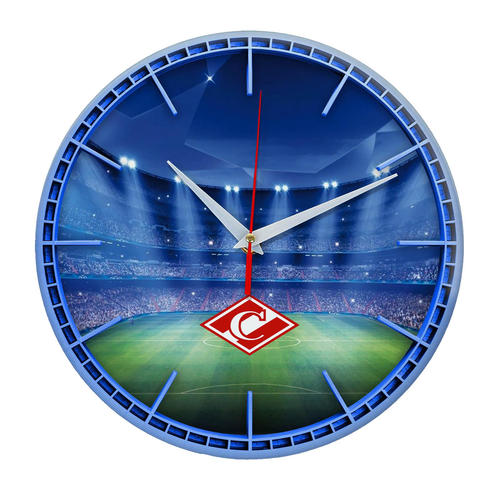 Настенные часы «Сувенир для фаната Спартак»