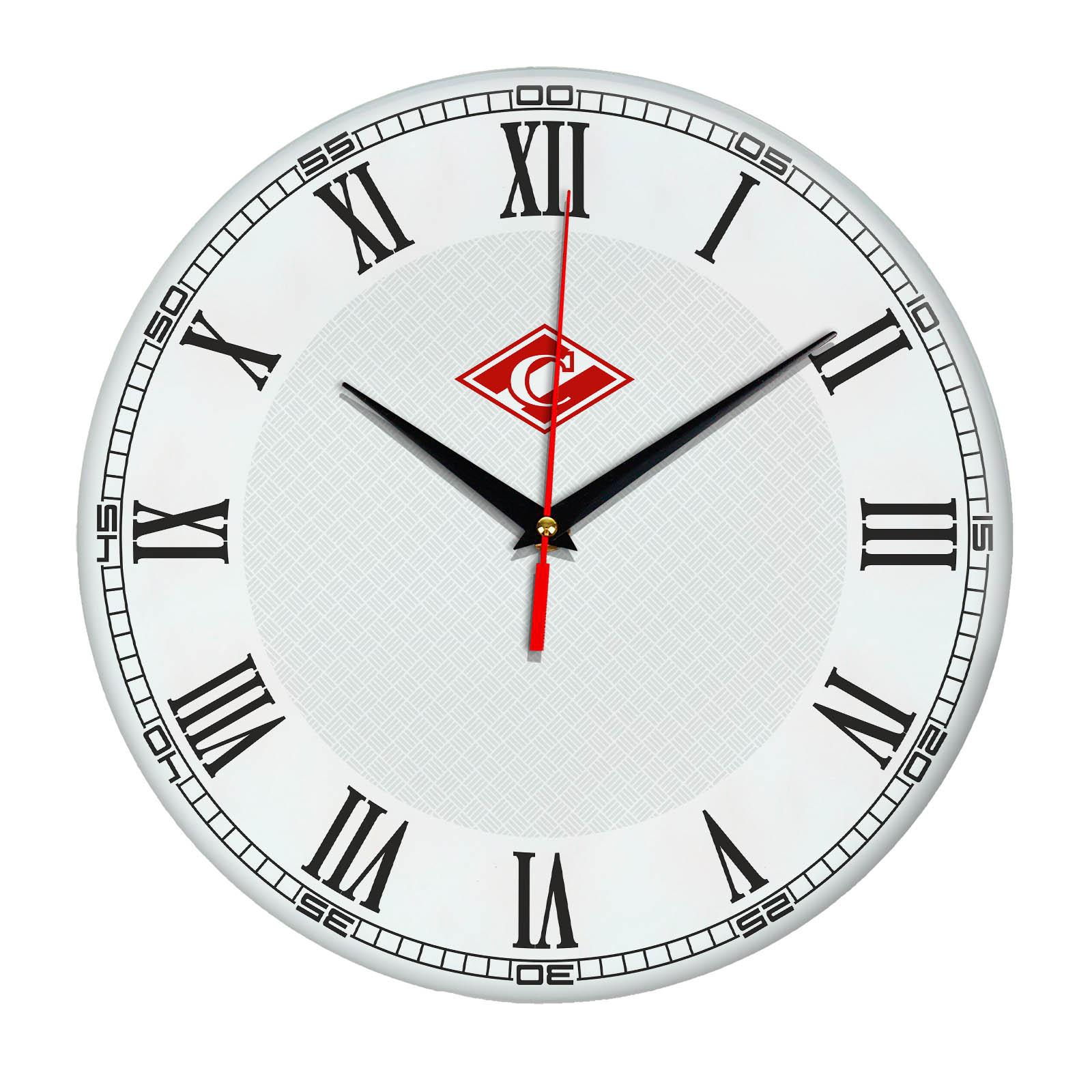 Настенные часы «с символикой Спартак ФК»