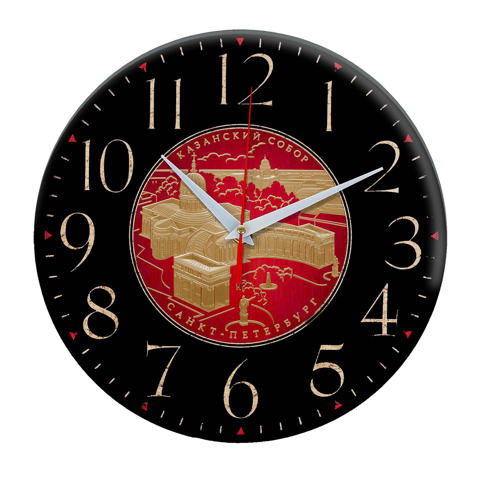 часы сувенир с видами Санкт Петербурга 1-07