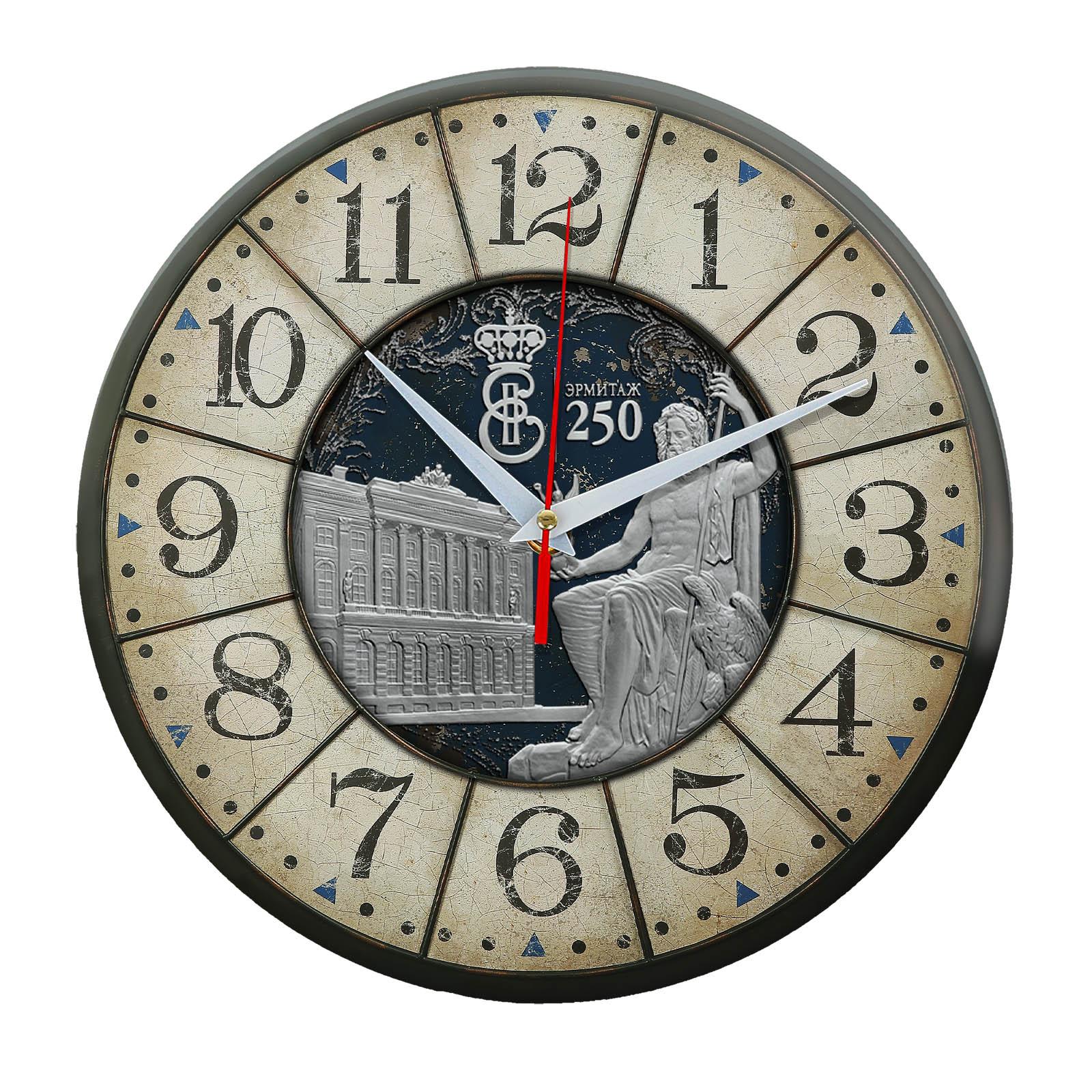 Часы настенные «Эрмитаж ретро»