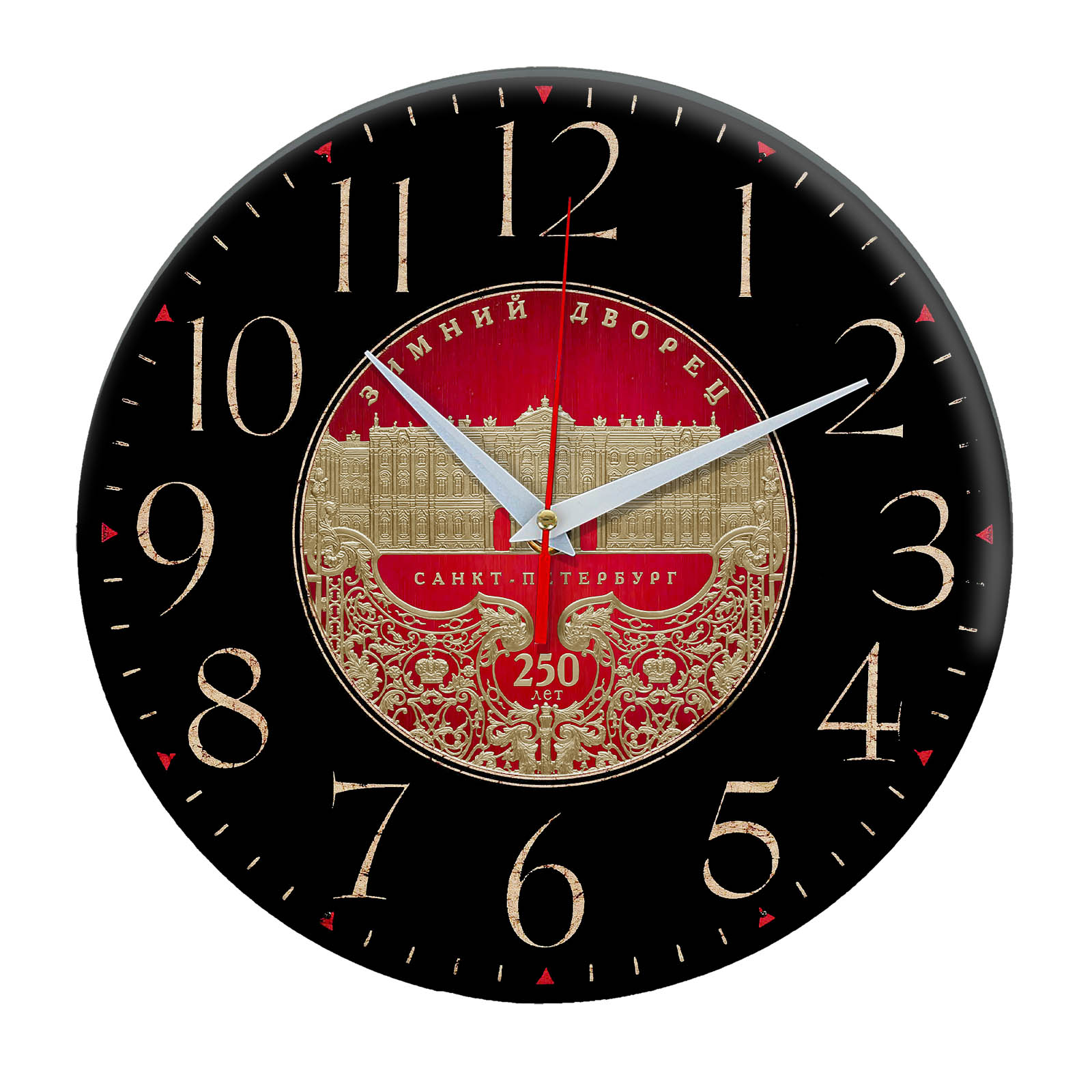 часы сувенир с видами Санкт Петербурга 8-07