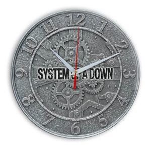 System of a down настенные часы 1