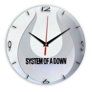 System of a down настенные часы 14