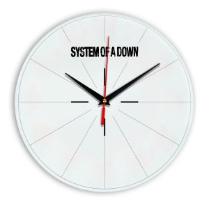 System of a down настенные часы 15