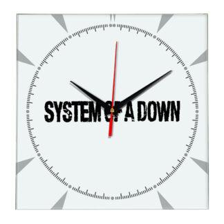 System of a down настенные часы 2