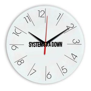 System of a down настенные часы 6