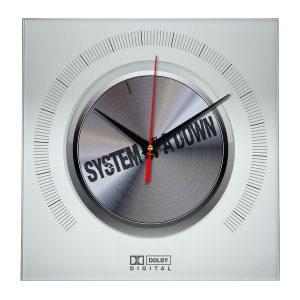 System of a down настенные часы 9