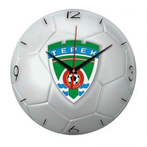 Настенные часы «Футбольный мяч Terek»
