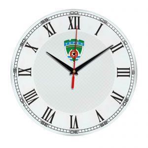 Настенные часы «с символикой Terek»