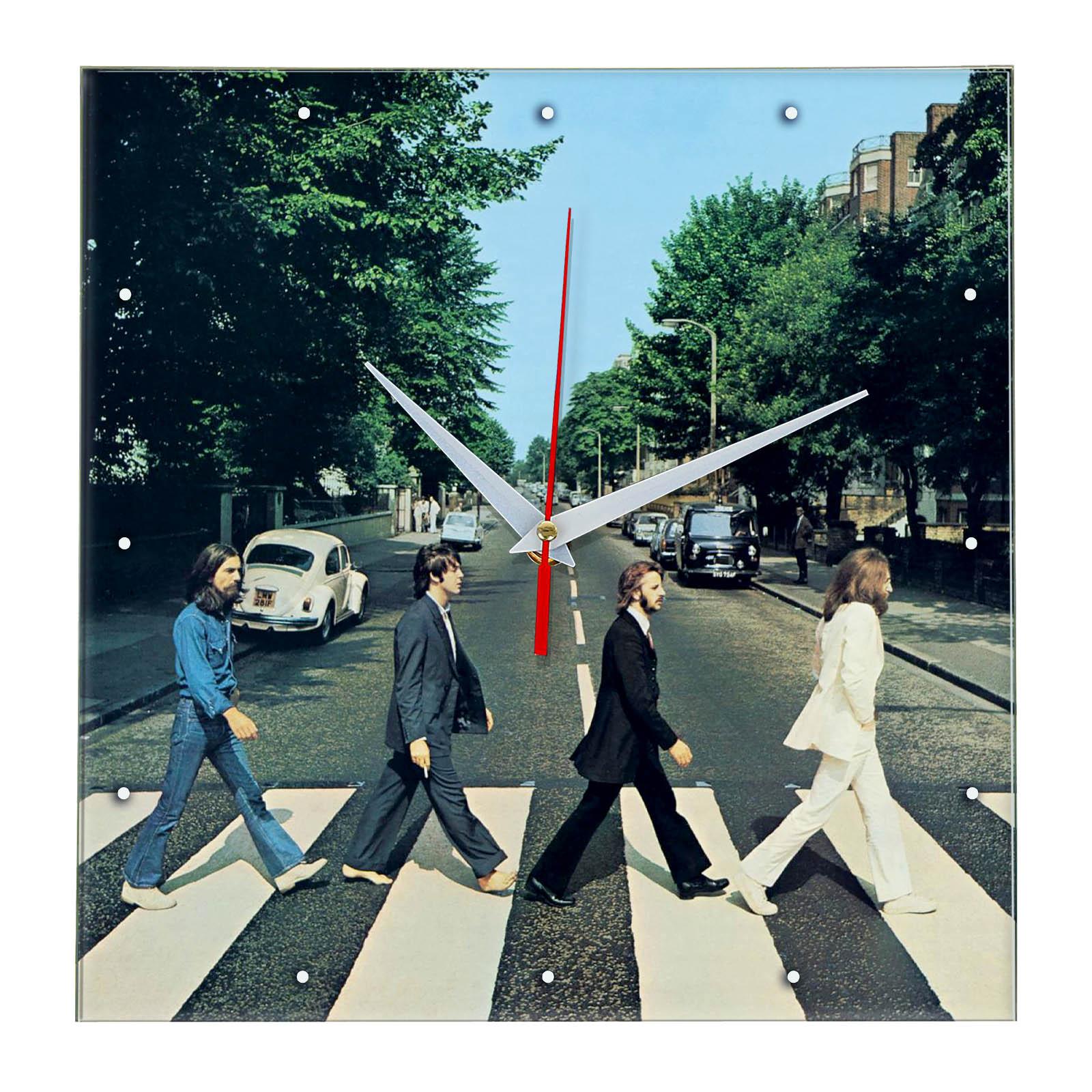 Настенные часы «the_beatles_road»