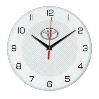 Настенные часы с символикой Toyota 04