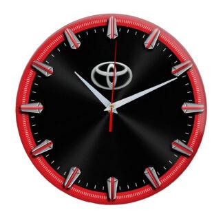 Настенные часы с рисками Toyota 06