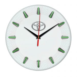 Сувенир – часы Toyota 07