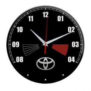 Сувенир – часы Toyota 16