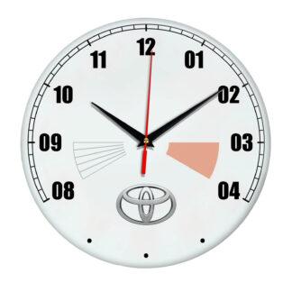 Сувенир – часы Toyota 17