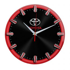 Сувенир – часы Toyota 2 06