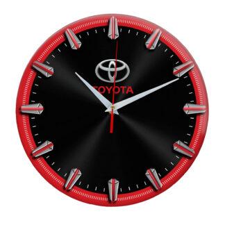 Настенные часы с рисками Toyota 2 06