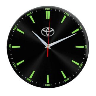 Настенные часы «toyota black»