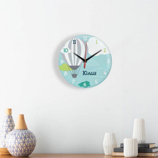 Подарок именной — Настенные часы с именем Юлия