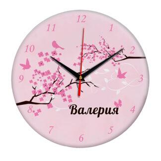 Часы — именной подарок «Валерия»