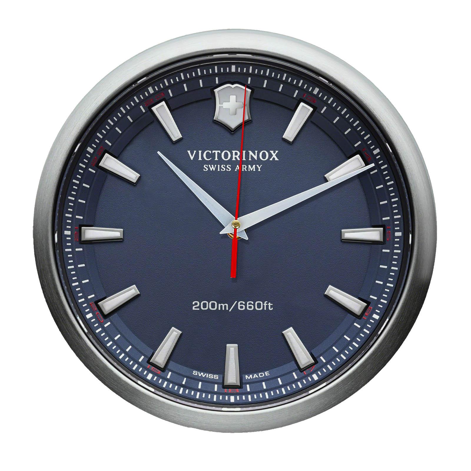 Часы настенные — копия наручных часов Victorinox watch blue