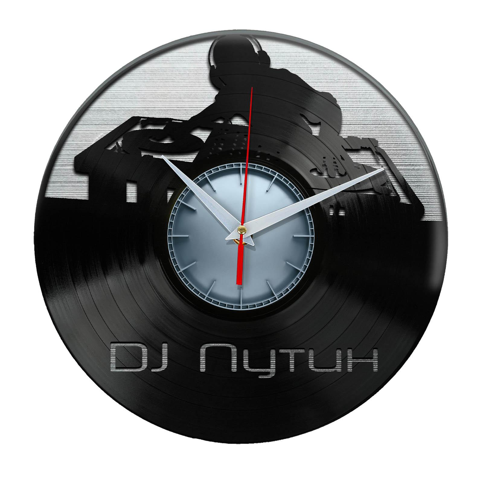 Настенные часы «vinyl o»