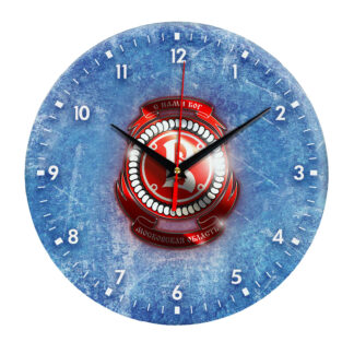 Настенные часы — На льду эмблема Vityaz Moscow Oblast 04