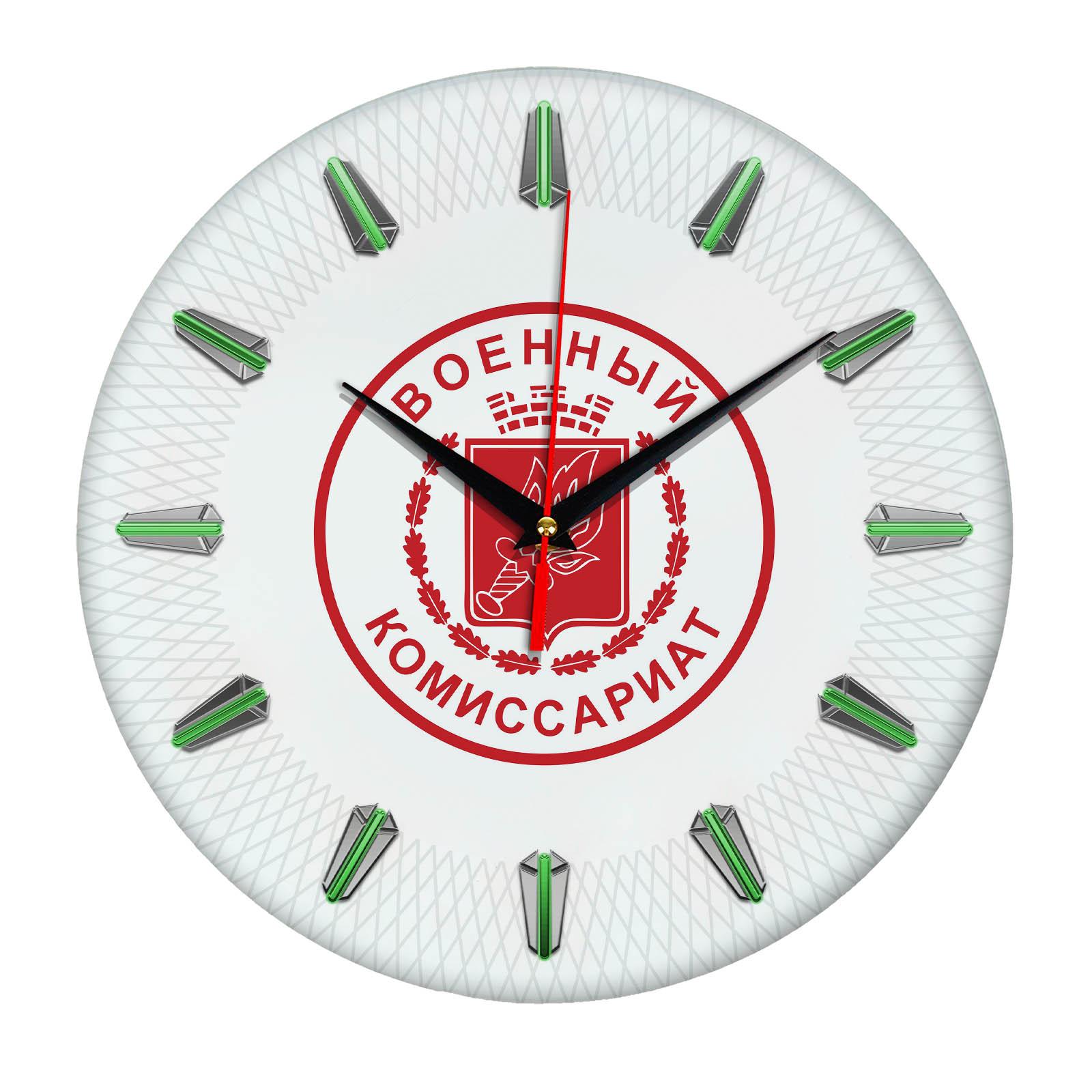 Настенные часы «voenkomat01»