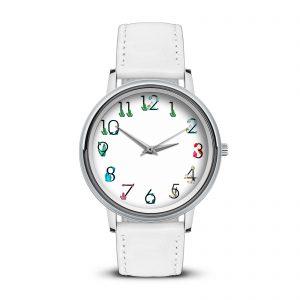 Наручные часы Идеал watch-3d-374-w11-belyi