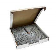 """Дизайнерские настенные деревянные часы """"WoodGlass"""" 10"""
