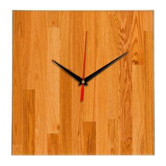 """Дизайнерские настенные деревянные часы """"WoodGlass"""" 13"""