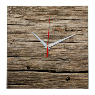 Дизайнерские настенные деревянные часы «WoodGlass» 16