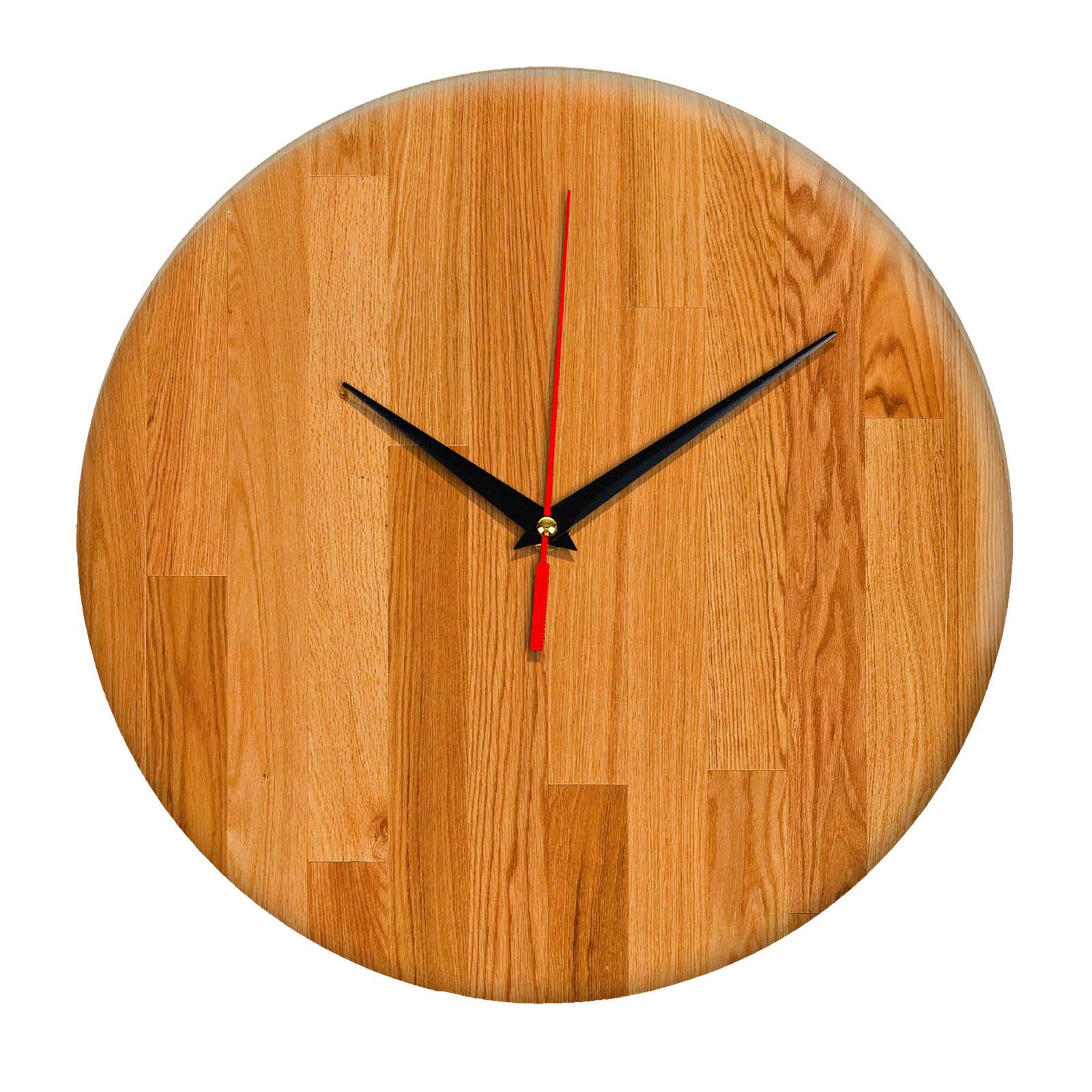 Дизайнерские настенные деревянные часы «WoodGlass» 20