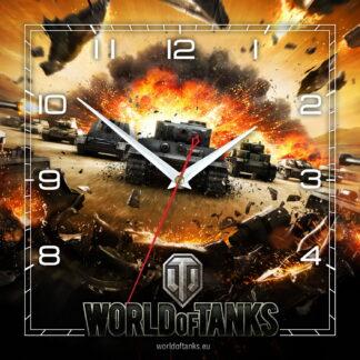 часы настенные World of Tanks
