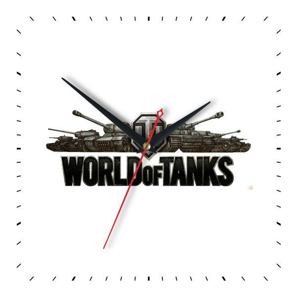 Часы настенные World of Tanks- время идет