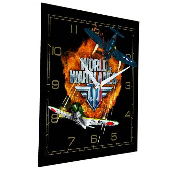 Настенные часы «world-of-warplanes»