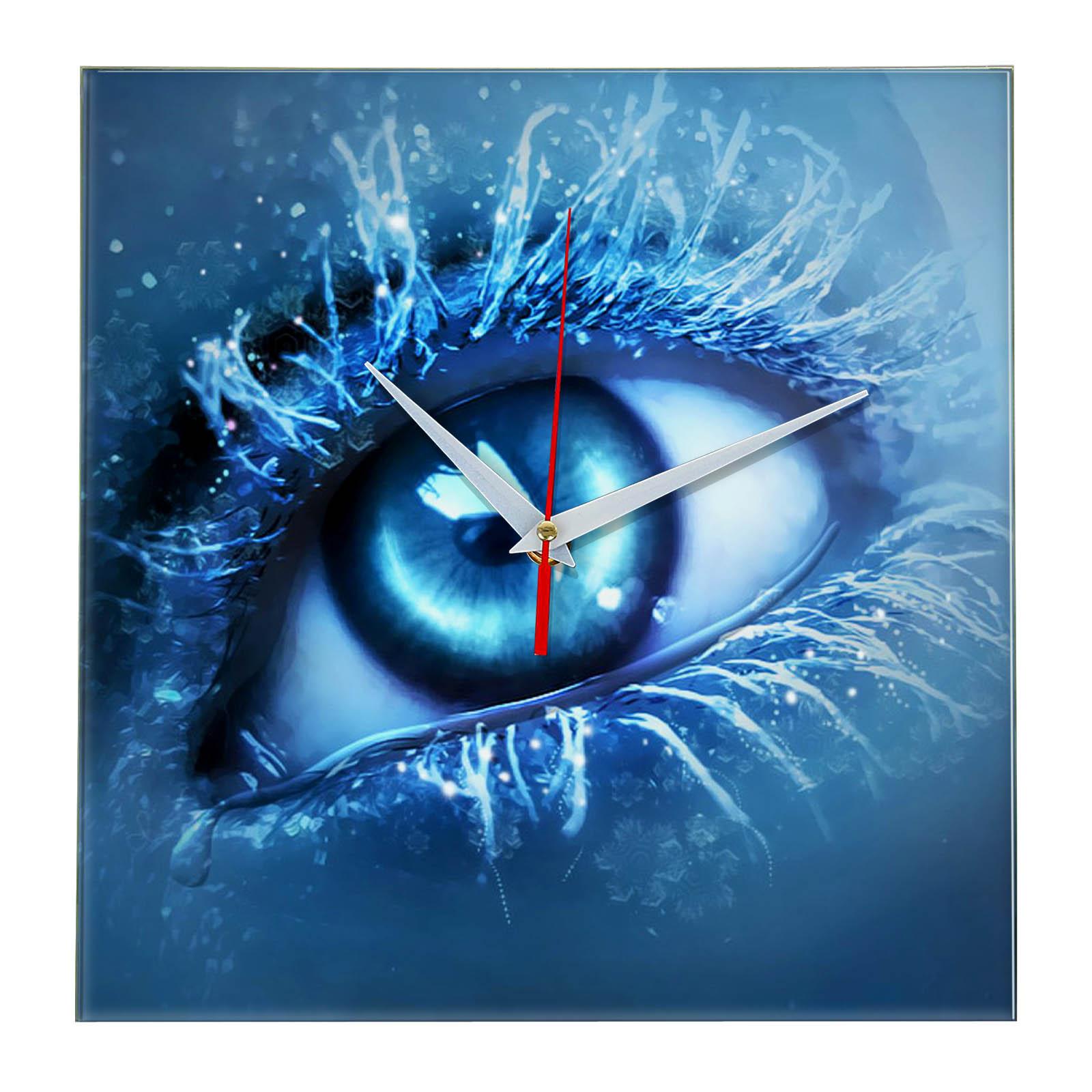 Часы настенные «Иней на ресницах»