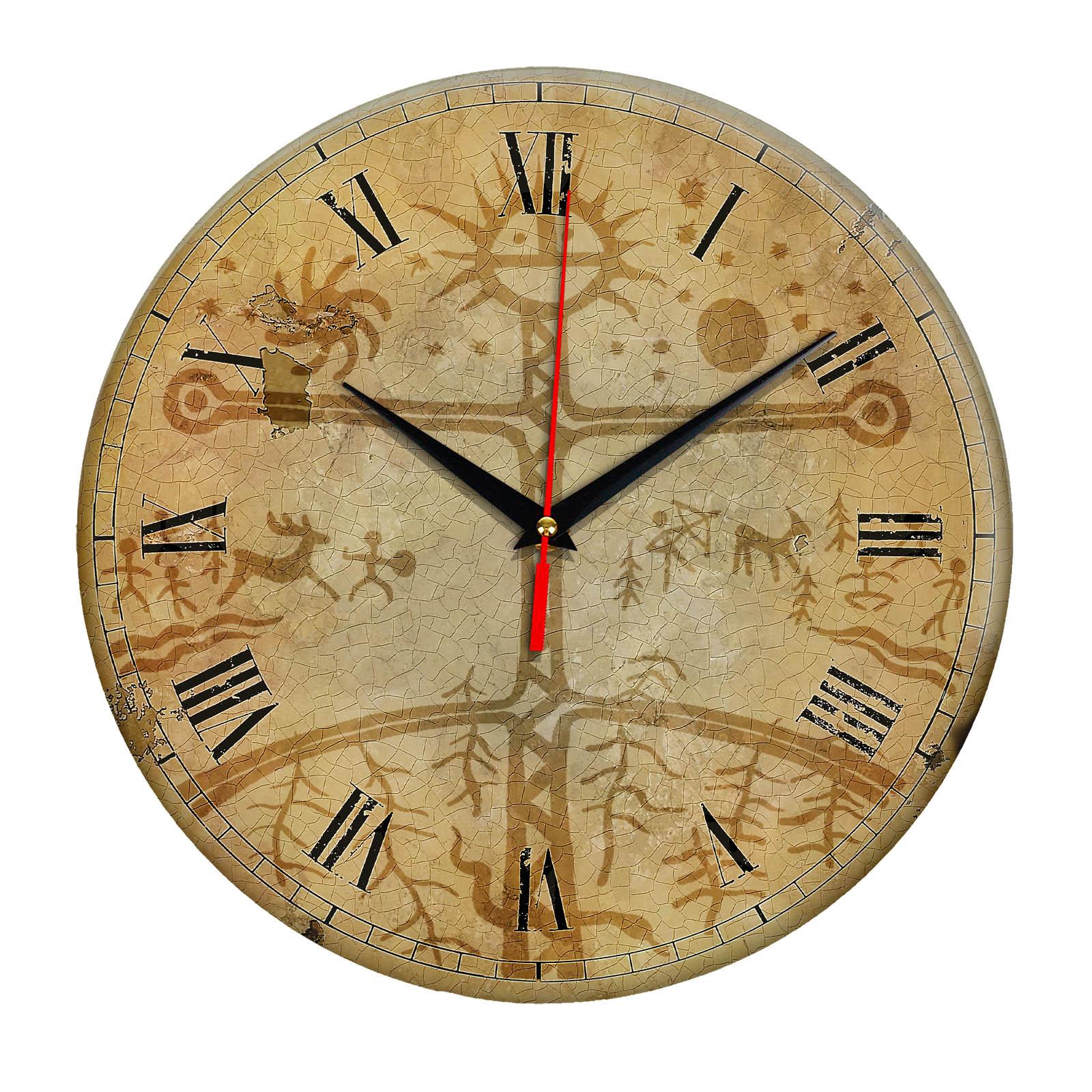 Часы настенные «Письмена Якутии»